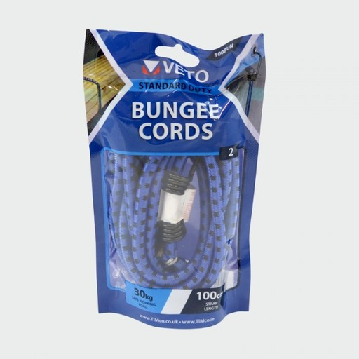 Bungee Cords - Standart, 8mm x 100 cm Image 1