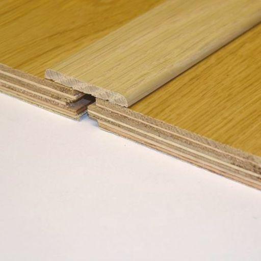 Unfinished Solid Oak Flat Threshold 65x6 mm, 2.7 m Image 1