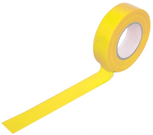 Insulation Tape, Yellow, 19 mm, 33 m Image 1