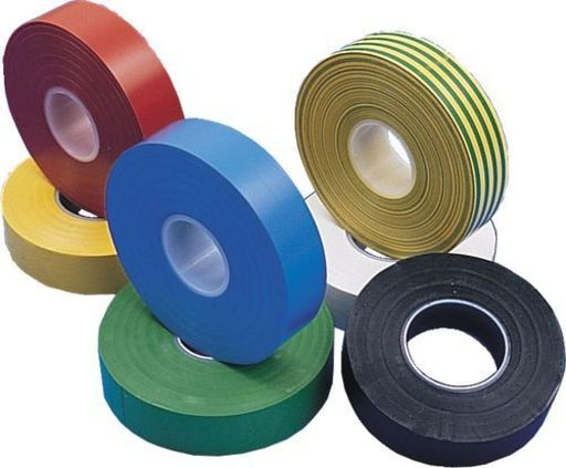 Insulation Tape, Yellow, 19 mm, 33 m Image 2