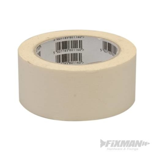 Super Heavy Duty Duct Tape, White, 50 mm, 50 m Image 1