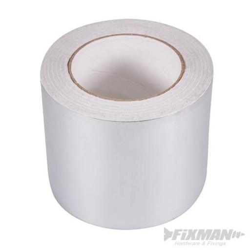 Aluminium Foil Tape, 100 mm, 50 m Image 1