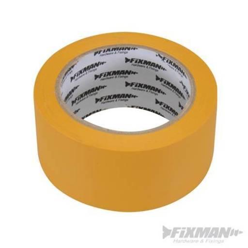 Builders Tape Yellow, 50 mm, 33 m Image 1