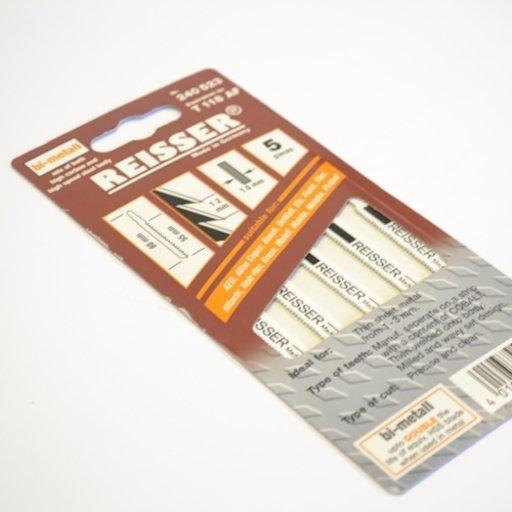 Reisser Jigsaw Blades, T118AF, pack of 5 Image 1