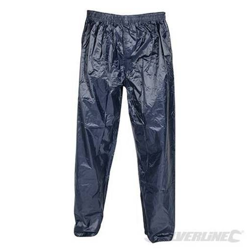 Lightweight PVC Trousers, Size XL Image 1