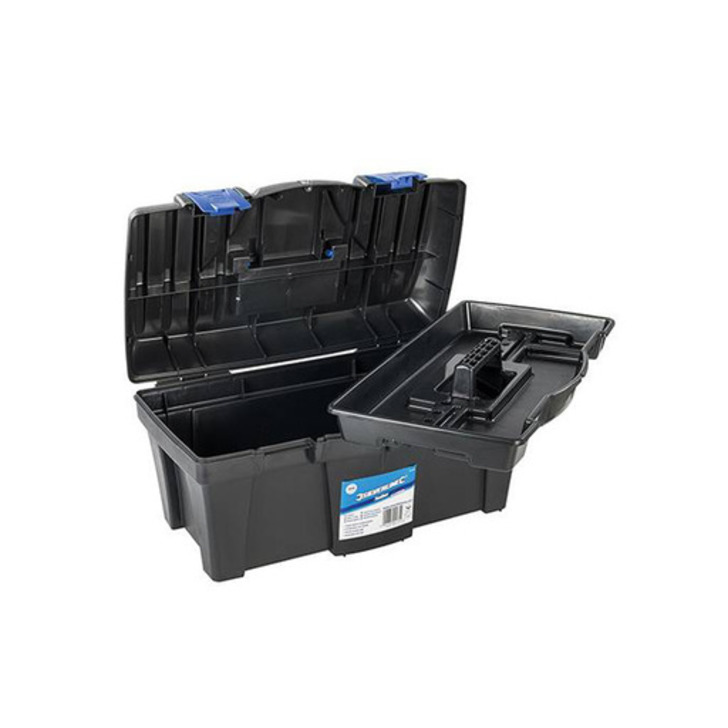 Silverline Toolbox, 460x240x225 mm Image 1