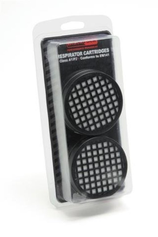 Replacement Filters for Twin Filter Re-usable Respirator Image 1