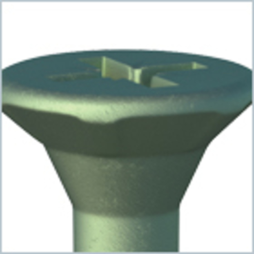 In-Dex Decking Screw, 4.5x50 mm, 175 pk Image 2