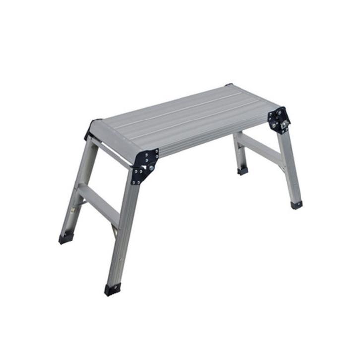 Silverline Step-Up Aluminium Platform, 150 kg Image 1