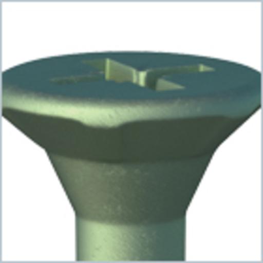 In-Dex Decking Screw, 4.5x65 mm, 145 pk Image 2