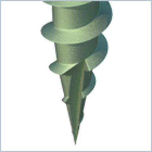 In-Dex Decking Screw, 4.5x65 mm, 145 pk Image 4