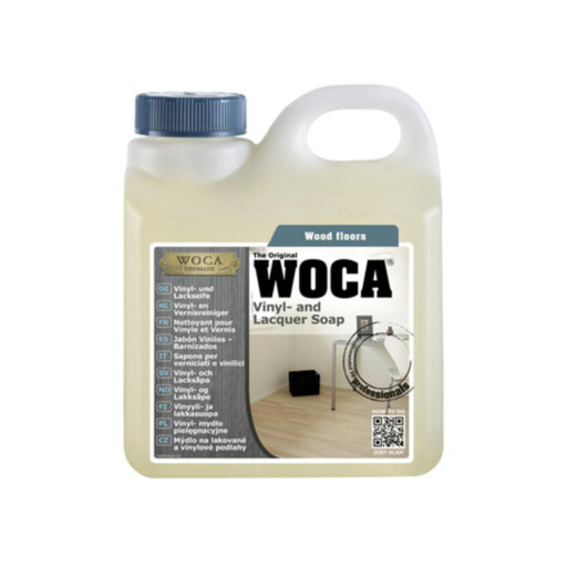 WOCA Vinyl & Lacquer Soap, Natural, 1L Image 1