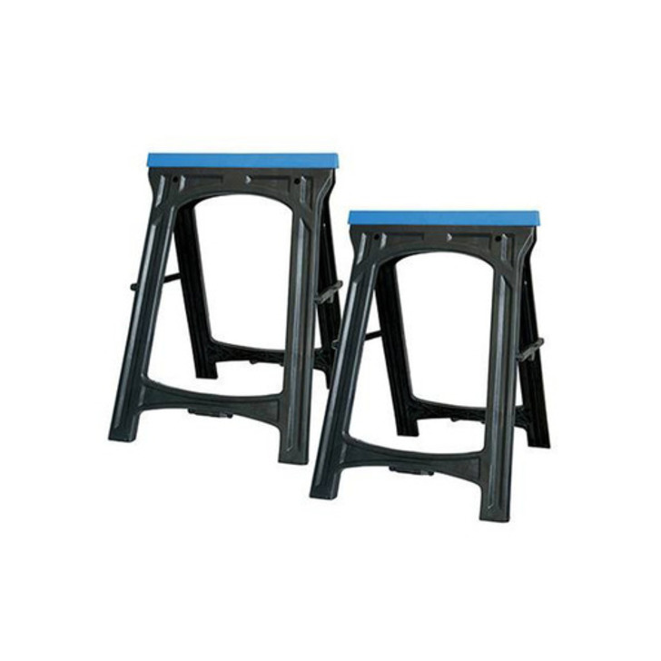 Silverline Saw Horse, Twin Pack, 100 kg Image 1