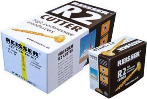Reisser R2 Cutter Screw, 6.0x80 mm, pack of 100 Image 1