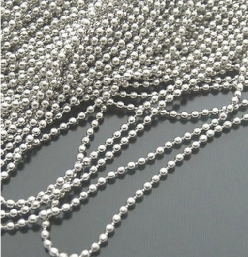 Ball Chain Fittings Nickel Plated Image 1