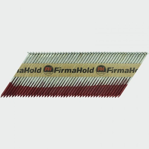 FirmaHold Nail & Gas, 2.8 x 50 mm, Angled Brads & Fuel Pack, FirmaGalvanized Image 2