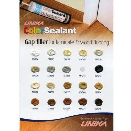 Unika Color Sealant, Medium Oak, 310 ml Image 3