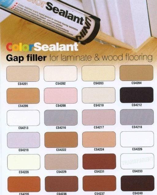Unika Color Sealant, Medium Oak, 310 ml Image 4