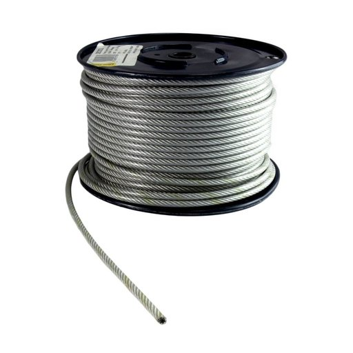 Wire Rope, 2 mm, Galvanised, 20 m Image 1