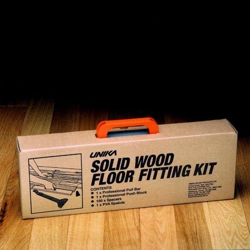 Unika Solid Wood Floor Fitting Kit Image 1