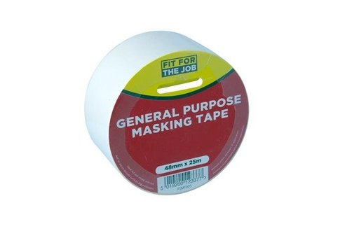 General Purpose Masking Tape, 48 mm, 25 m Image 1