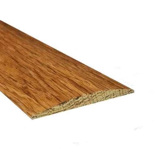 Solid Oak Flat Threshold Strip, Unfinished, 0.9m Image 1