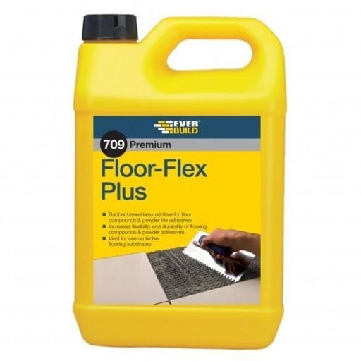 Everbuild FloorFlex Plus Latex, 5 L Image 1