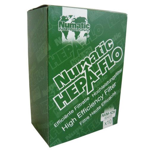 Hepaflo Vacuum Dust Bag Filters (Henry, Hetty, James, Harry), Box of 10 Image 1