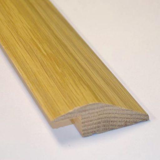 Unfinished Solid Oak Reducer Threshold, 65x15 mm, 2.4 m Image 2