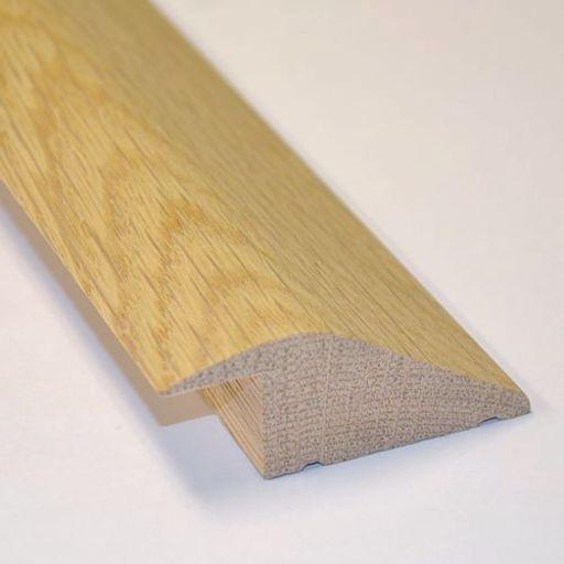 Unfinished Solid Oak Reducer Threshold, 65x20 mm, 2.4 m Image 1
