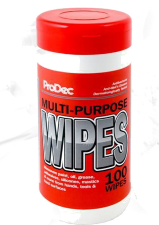 Multi-Purpose Builders Wipes, Tub 100 Image 1