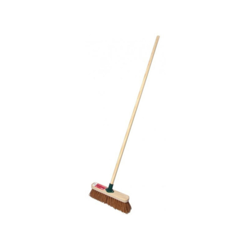 Soft Sweeping Broom Complete, 18 inch Image 1