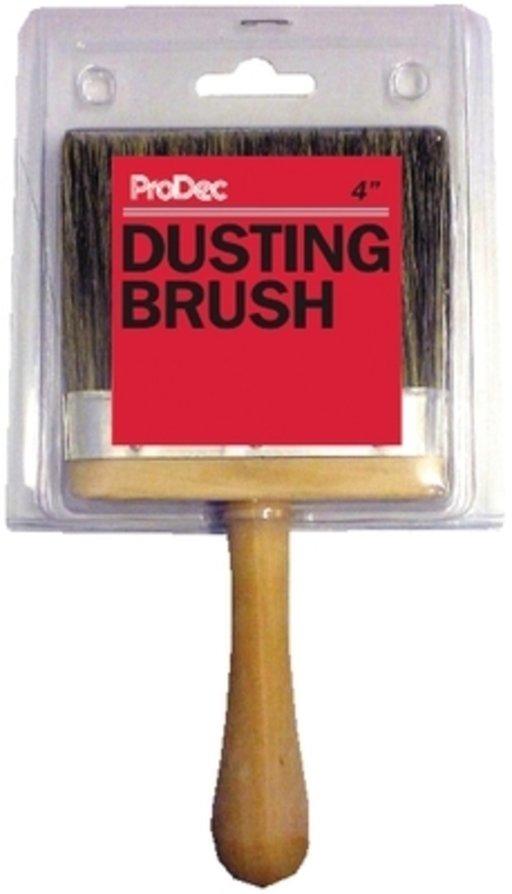 Grey Bristle Dusting Brush, 4 inch Image 1