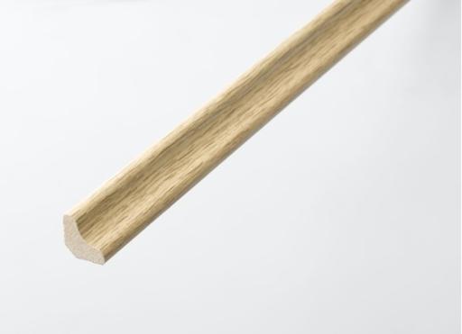 HDF Natural Oak Scotia Beading For Laminate Floors, 18x18 mm, 2.4 m Image 1