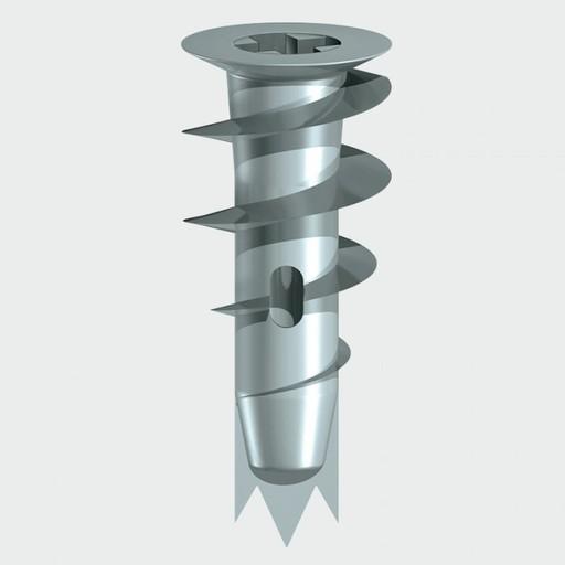 Metal Speed Plug With Screw, 31.5 mm, 5 pcs Image 1
