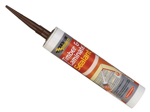 Everbuild Timber & Laminate Sealant, Beech, 290 ml Image 1
