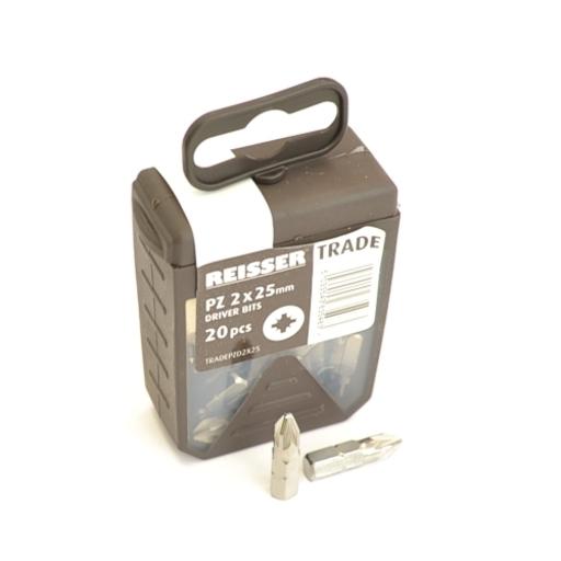Reisser Trade PZD Screwdriver Bit, 2x25 mm, tub of 20 bits Image 1