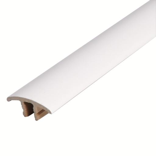 HDF Unistar White Threshold For Laminate Floors,  90 cm Image 1
