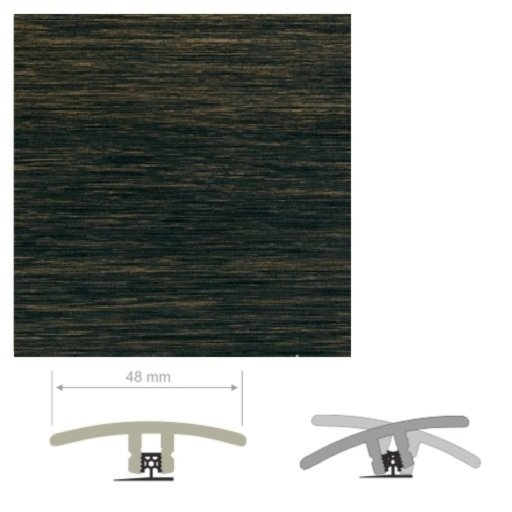 HDF Unistar Panga Panga Threshold For Laminate Floors,  90 cm Image 2