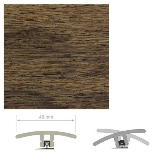 HDF Unistar Highland Oak Threshold For Laminate Floors,  90 cm Image 1