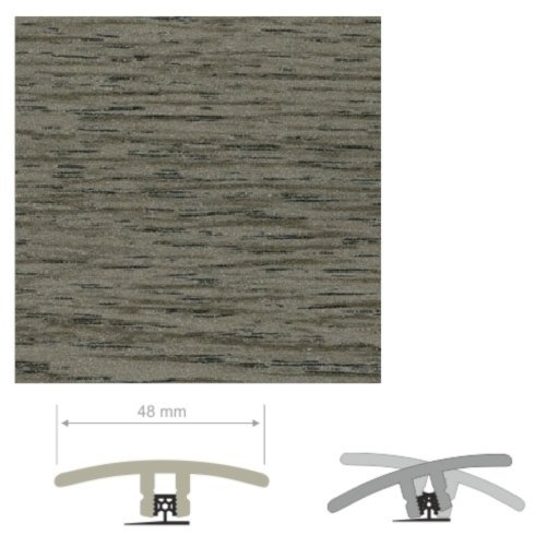 HDF Unistar Silver Ash Threshold For Laminate Floors,  90 cm Image 1