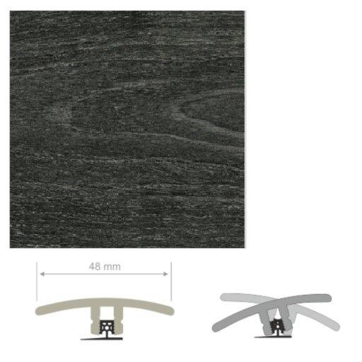 HDF Unistar Moor Acacia Threshold For Laminate Floors,  90 cm Image 1