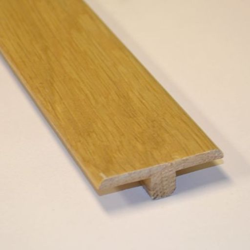 Unfinished Solid Oak T-Shaped Threshold, 90 cm Image 2