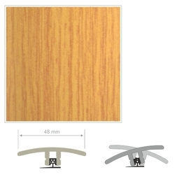 HDF Unistar Oak Threshold For Laminate Floors,  90 cm
