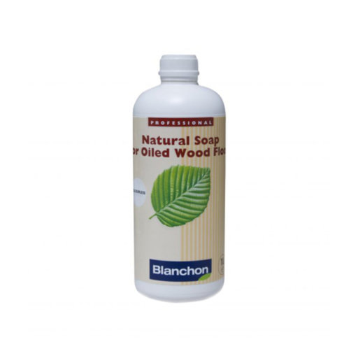 Blanchon Natural White Soap For Oiled Wood Floor, 1L