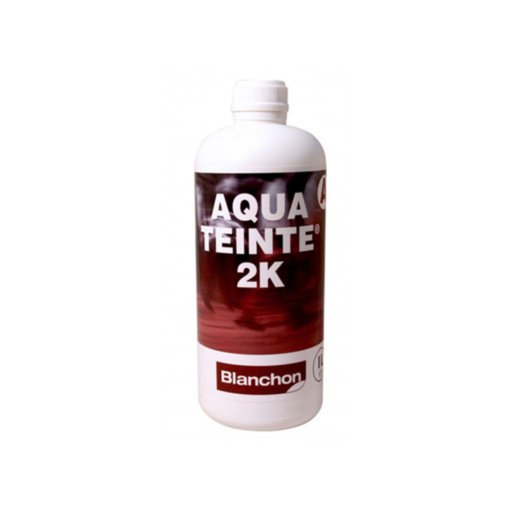 Blanchon Aquateinte 2K, PU Waterbased Stain, Colourless, 1L