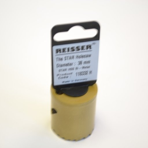 Reisser HSS Bi-Metal Holesaw, 38 mm