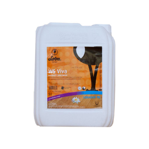 Loba WS Viva Lacquer, Semi-Gloss (UK Satin), 5 L