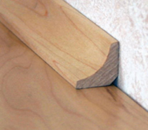 Solid Oak Scotia Beading, Lacquered, 19x19 mm, 2.4 m