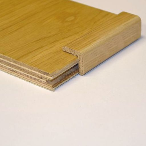 Solid Oak Corner Bead, Lacquered, 15 mm, 2.4 m
